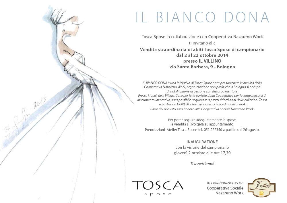 702417541fbc Il Bianco Dona – Vendita straordinaria abiti Tosca Spose