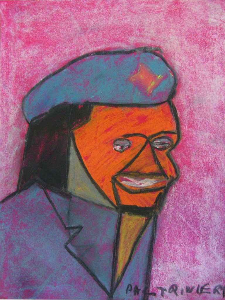 Paltrinieri-C.-Che-Guevara-2009-gessetti-su-carta-50-x-65-cm