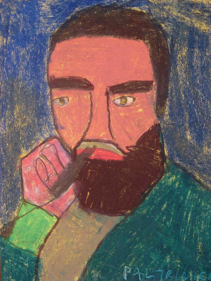 Paltrinieri-C.-Fidel-Catsro-2009-pastelli-a-olio-50-x-65-cm