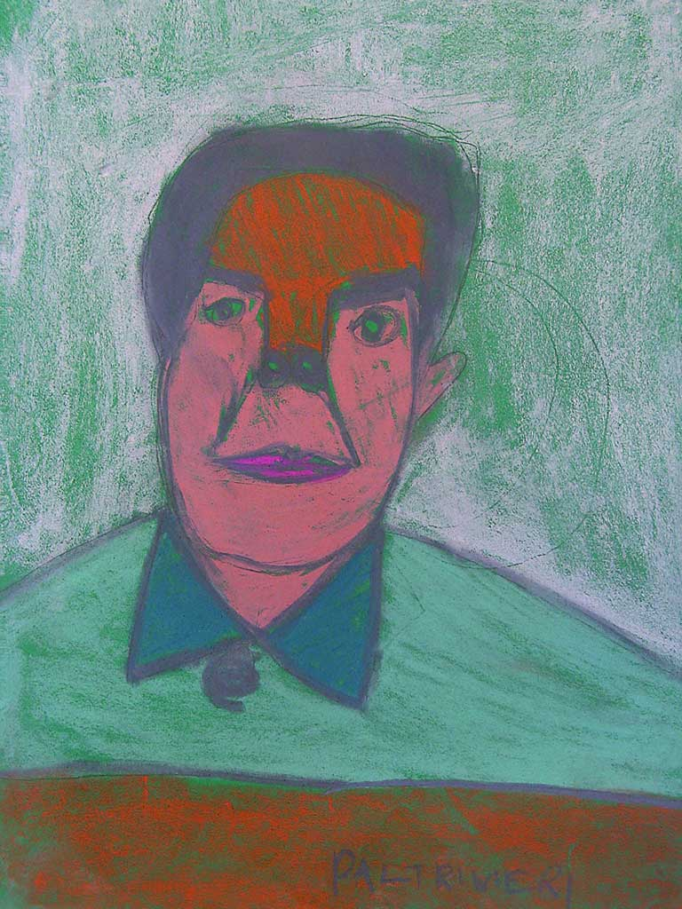 Paltrinieri-C.-Mao-Tze-Tung-gessetti-su-carta-50-x70-cm