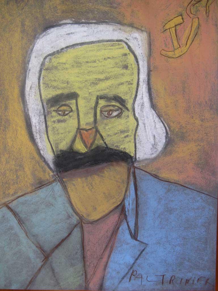 Paltrinieri-C.-Marx-2009-gessetti-50-x-65-cm
