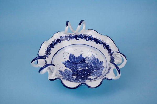 Centrotavola Ricciolona d.30cm ceramica romagnola