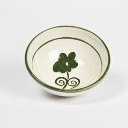 Ciotola macedonia ceramica decoro artigianale
