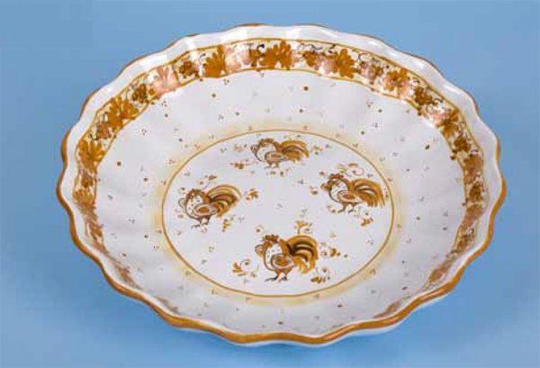 Crespina d.30cm ceramica romagnola