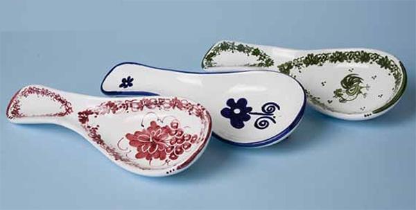 9344a3fab53a Cucchiarella ceramica decoro artigianale - Banco Artigiano delle ...