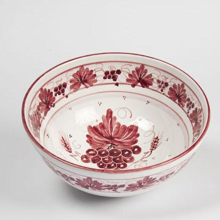 Insalatiera ceramica romagnola d.25cm