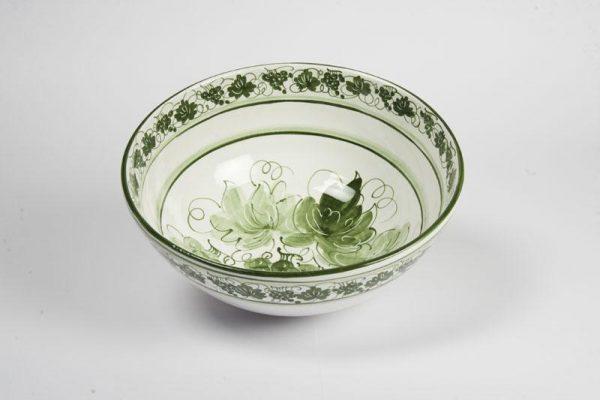 Insalatiera ceramica romagnola d.30cm