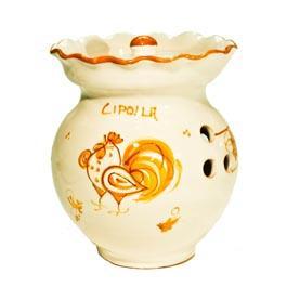 Portacipolle ceramica romagnola