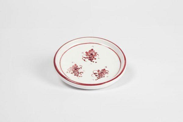 Sottobottiglia / sottobicchiere ceramica romagnola