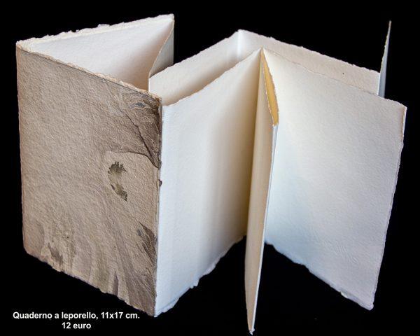 Quaderno a leporello 11×17 cm