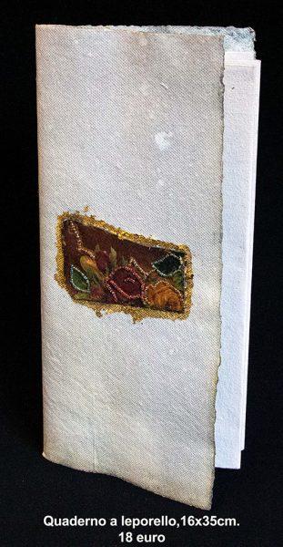 Quaderno a leporello 16×35 cm