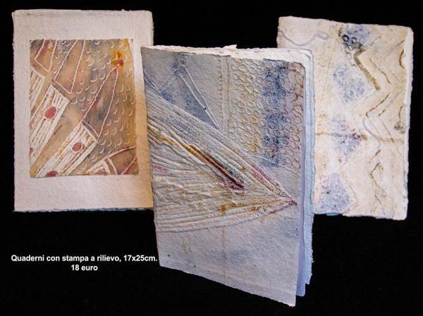 Quaderno con stampa rilievo 17×25 cm