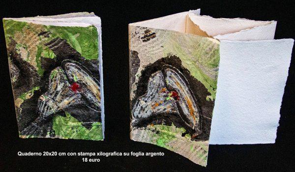 Quaderno con stampa xilografica
