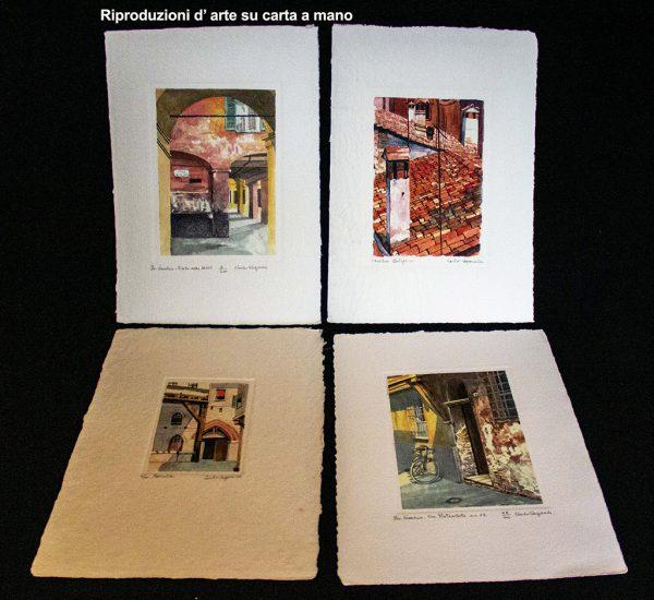 Riproduzioni d'arte su carta