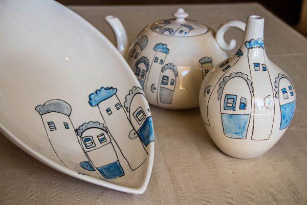 Ceramica case ricciolute