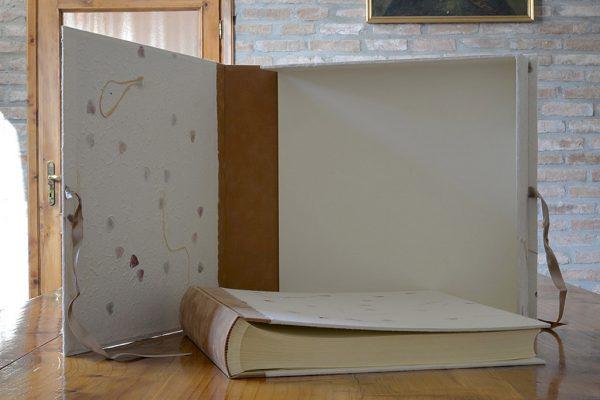 Album matrimonio con scatola