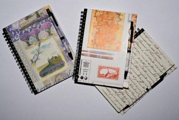 Quaderno spirale con penna